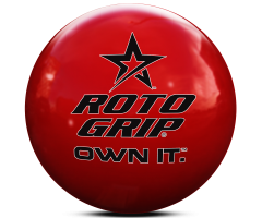 ROTO GRIP Clear Poly Own It Red