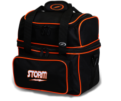 STORM Single Flip Tote - Schwarz/Orange