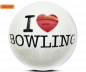 Preview: ALOHA Clearball I Love Bowling Bowling Ball