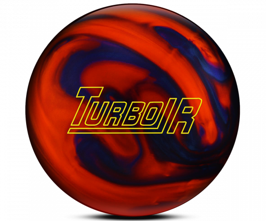 EBONITE Turbo/R - Orange/Blue Pearls Bowling Ball