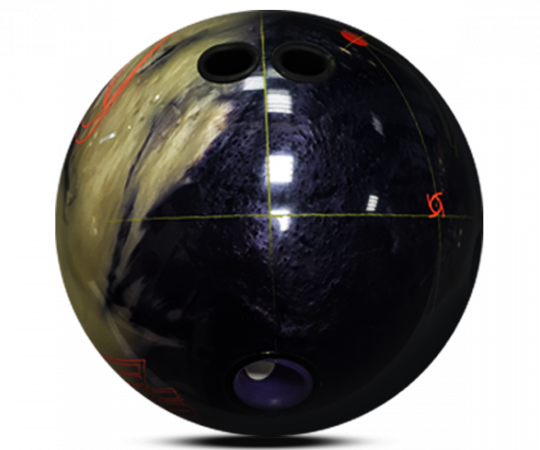 STORM Punch Out Bowling Ball Layout