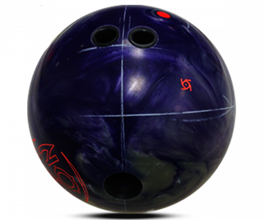STORM Reign ON Bowling Ball Layout