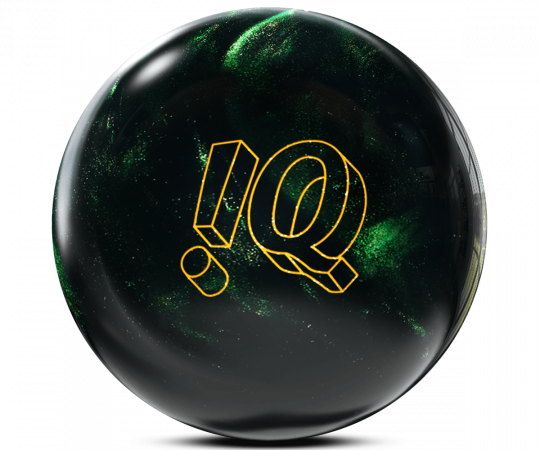 Gebrauchter STORM !Q Tour Emerald in 12lbs. Bowling Ball