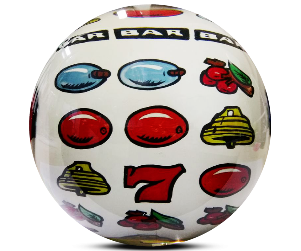 ALOHA Clearball Jackpot Bowling Ball