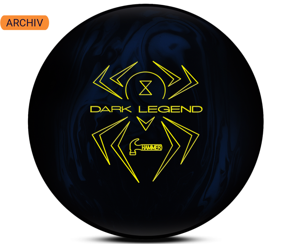HAMMER Black Widow Dark Legend Solid Bowling Ball