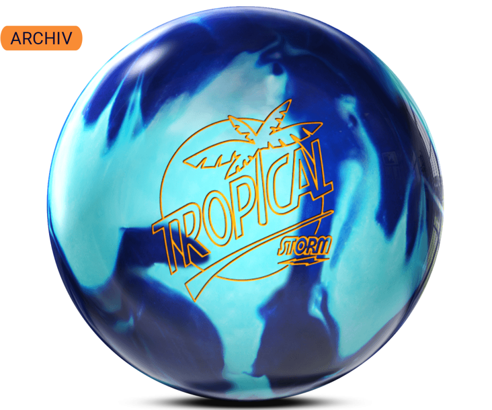 STORM Tropical - Teal/Blue Bowling Ball
