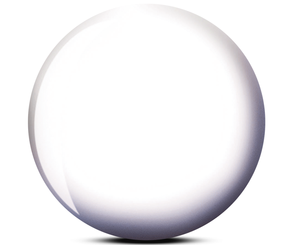 BRUNSWICK® Viz-A-Ball White Ball Bowling Ball