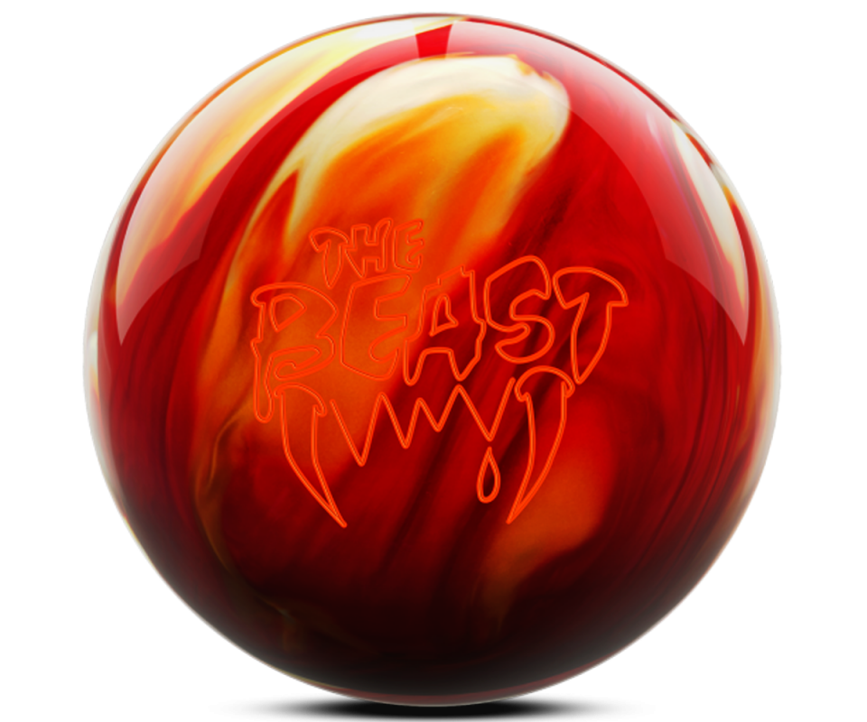 COLUMBIA 300 Beast - Cherry/Gold/White Bowling Ball