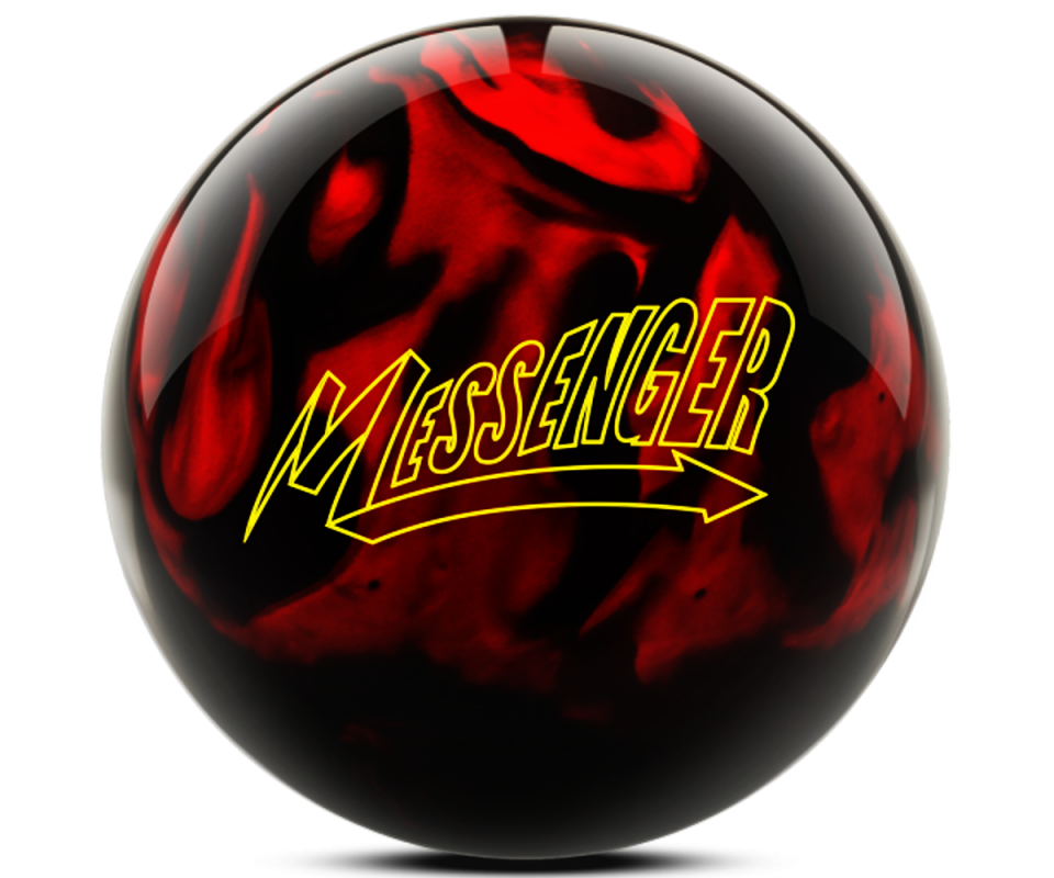 COLUMBIA 300 Messenger - Red/Black Bowling Ball