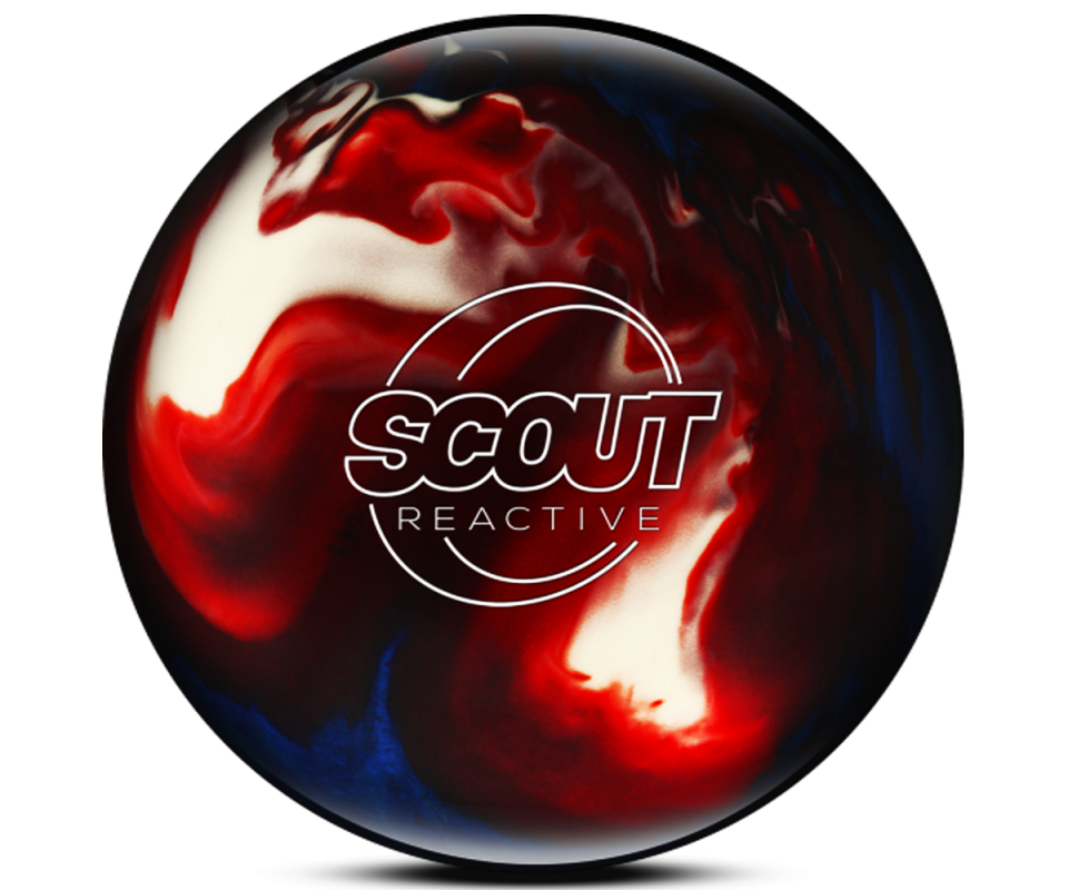 COLUMBIA 300 Scout/R - Red/White/Blue Bowling Ball