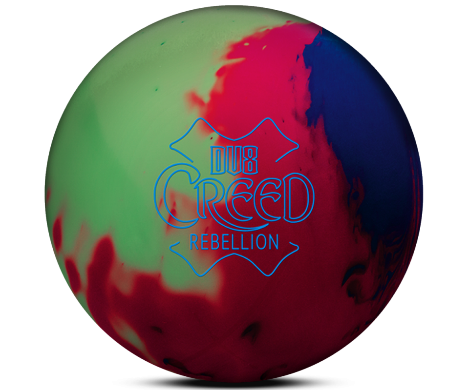 DV8® Creed Rebellion Bowling Ball Glow