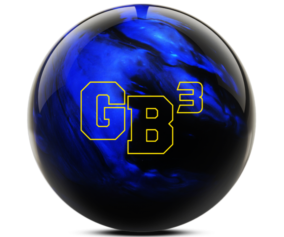 EBONITE Game Breaker 3 Black/Blue Bowling Ball
