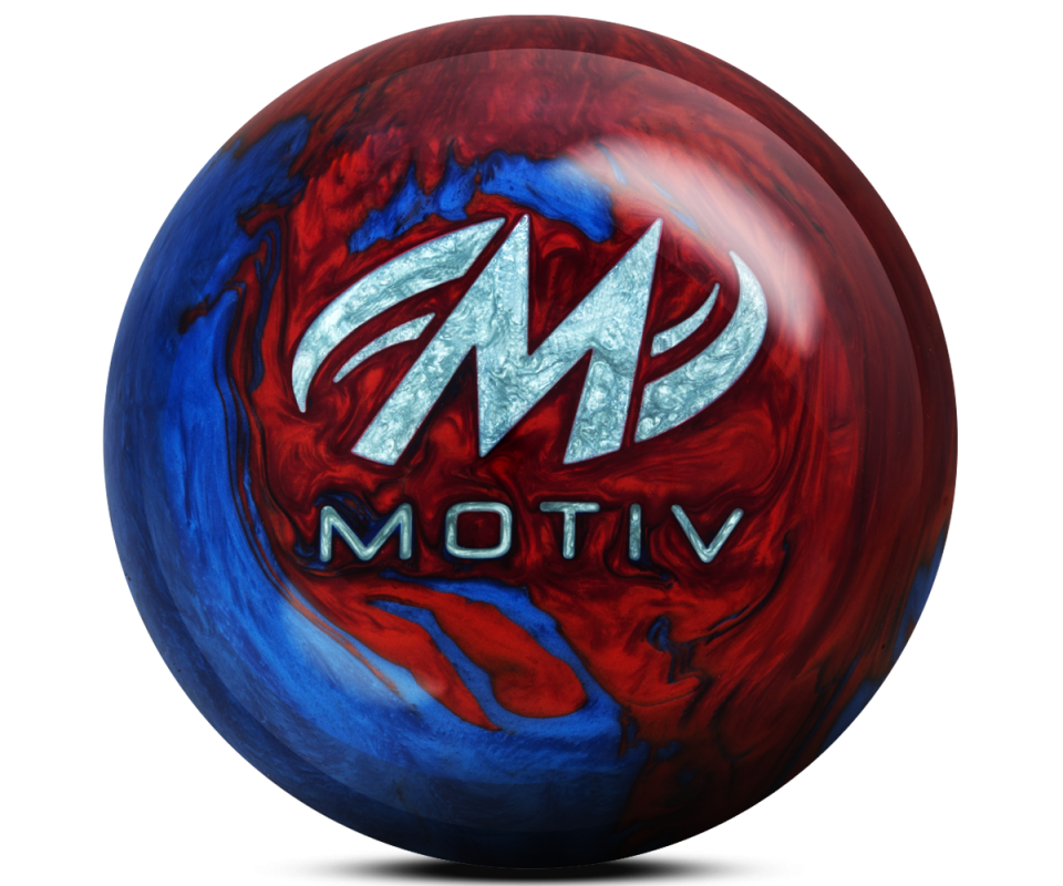 MOTIV® Freestyle Rush Red/Blue Bowling Ball