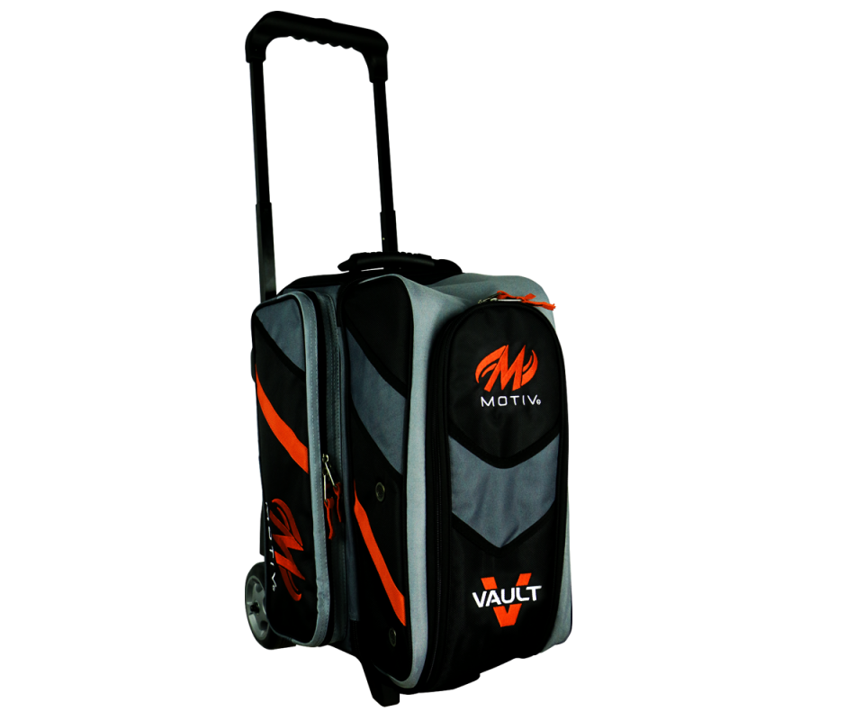 MOTIV® Vault Double Roller - Schwarz/Orange