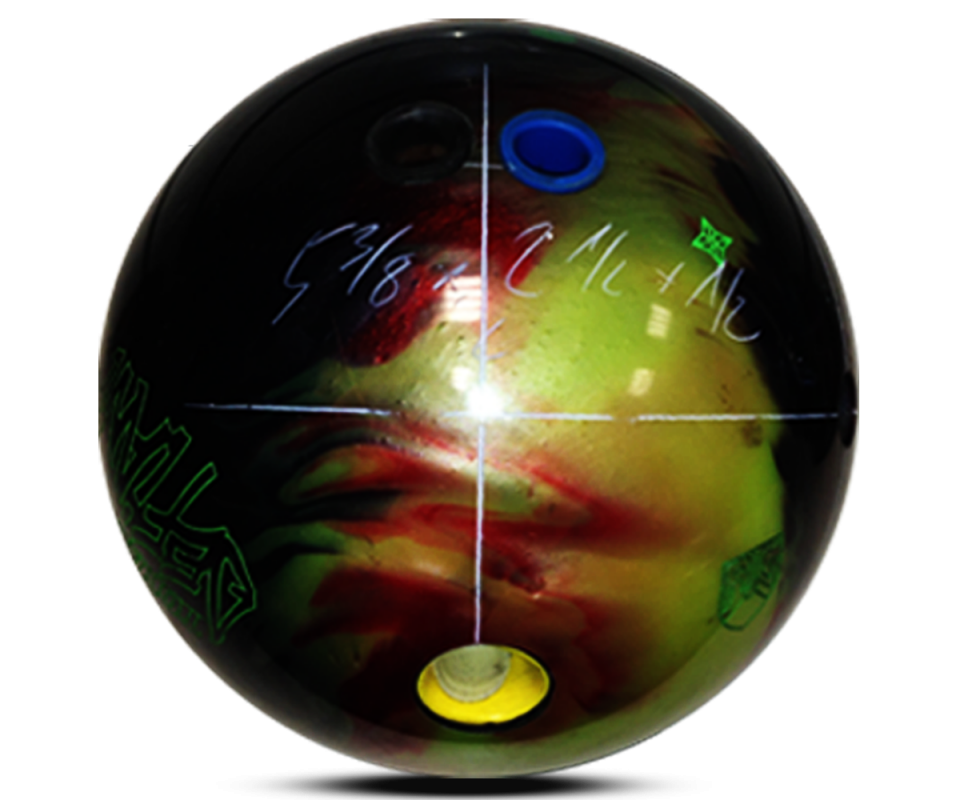 ROTO GRIP Totally Defiant Bowling Ball Layout