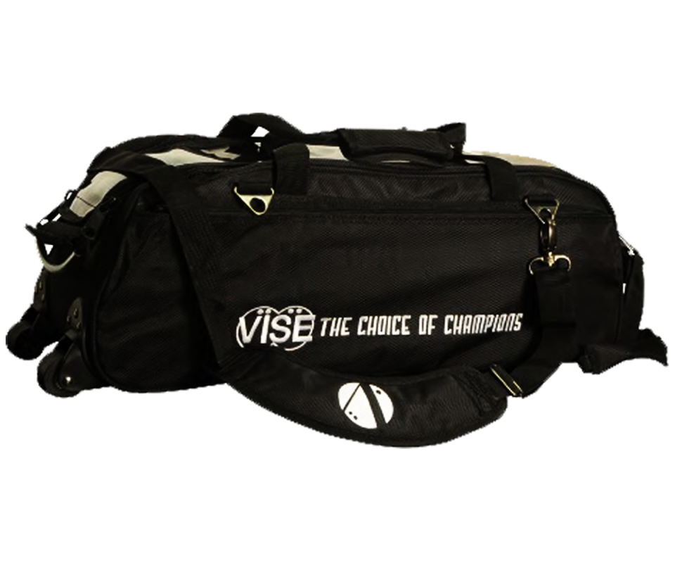 "VISE Triple ""Clear Top"" Tote Roller - Schwarz"