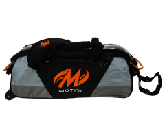 MOTIV® Ballistix Triple Tote - Schwarz/Orange