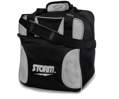 STORM Single Solo Tote - Schwarz/Silber